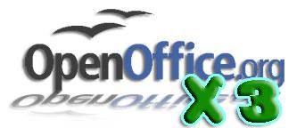 OpenOffice x 3